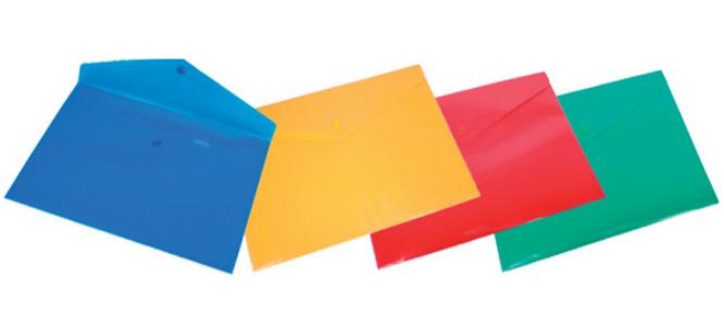 236808621c Obal A4 plastový so zapínaním farebný